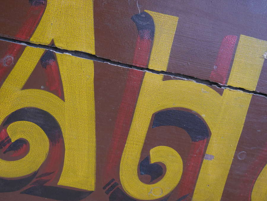 Large French Trade Sign