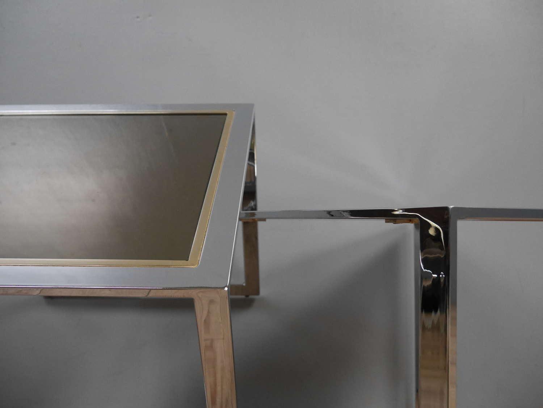 Chrome End Tables