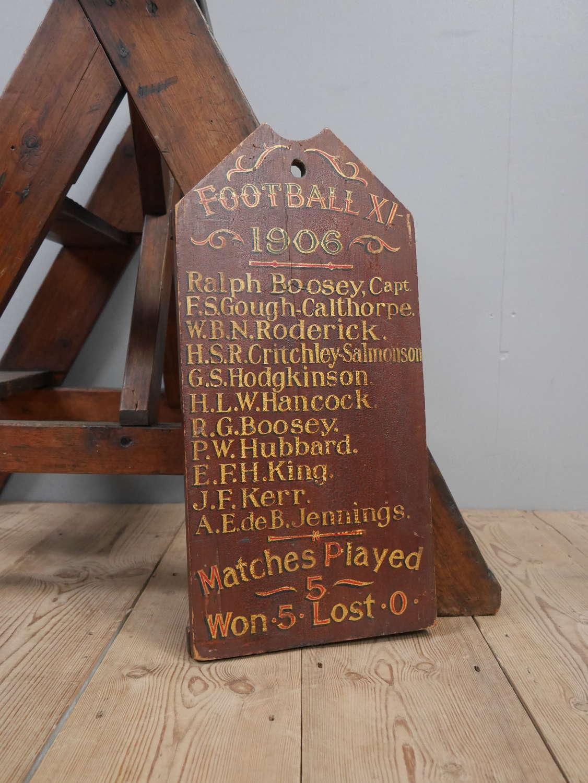 Football 11 1906