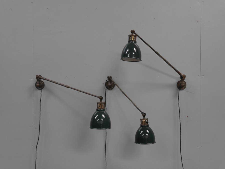 Jewellery Quarter Machinist Lamps