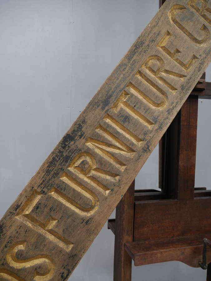 Holland's Furniture Cream Sign c1900