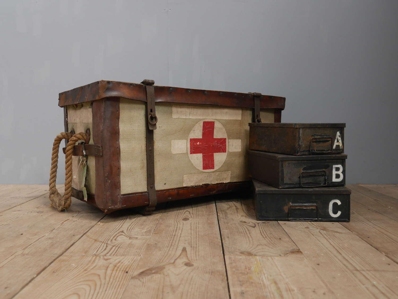 Military Field Treatment Trunk #1
