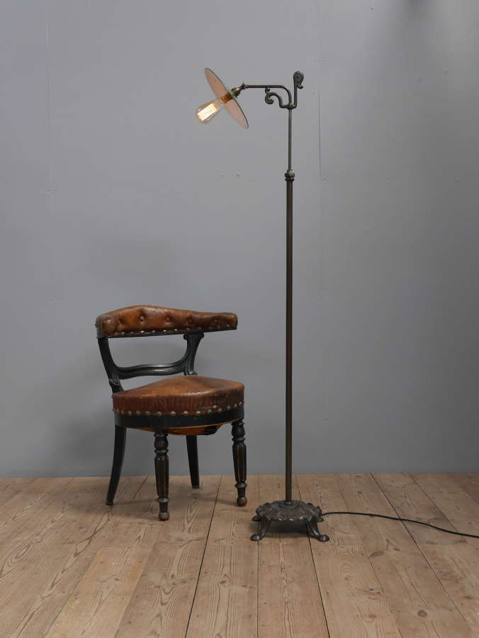 Cast Iron Floor Lamp
