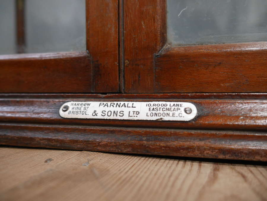 Parnall & Sons Shop Display Cabinet