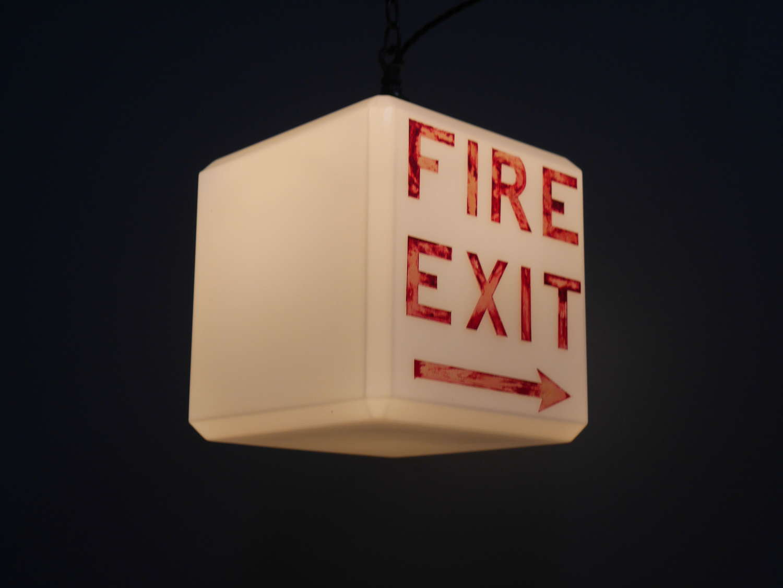 Fire Exit Opaline
