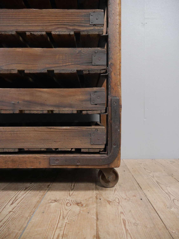 Pine Baker's Rack