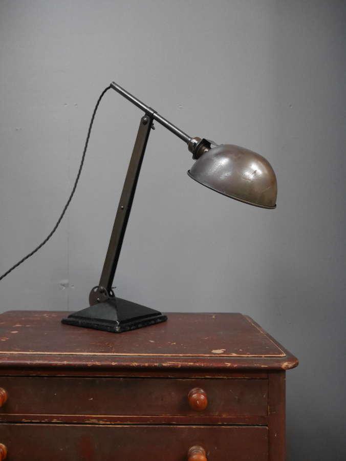 1930's Brass Task Light