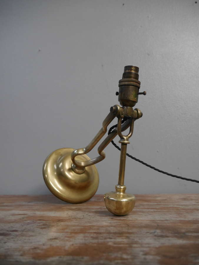 Nautical Brass Gimbal Lamp