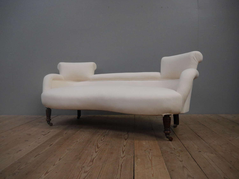 Victorian Twin Back Parlour Sofa