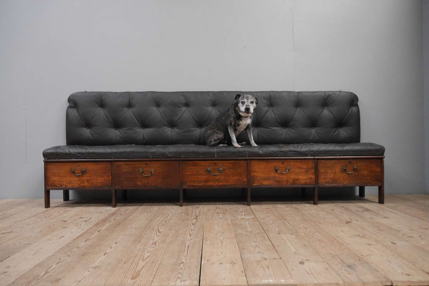 Large Country House Hall Bench
