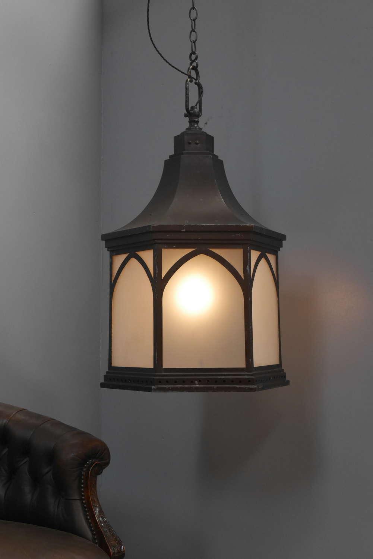 Huge GEC Church Lantern