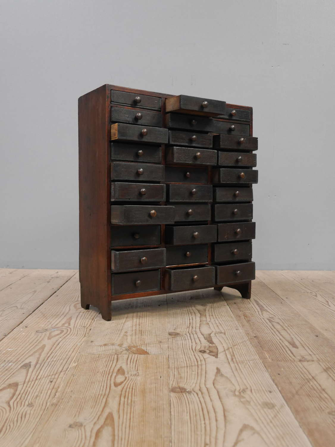 19th Century Watchmakers Drawers