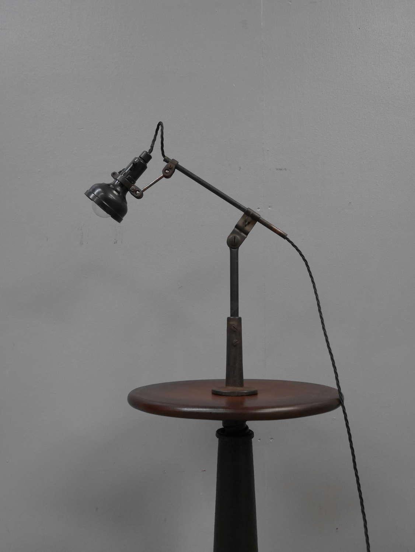 Singer Machinist Lamp