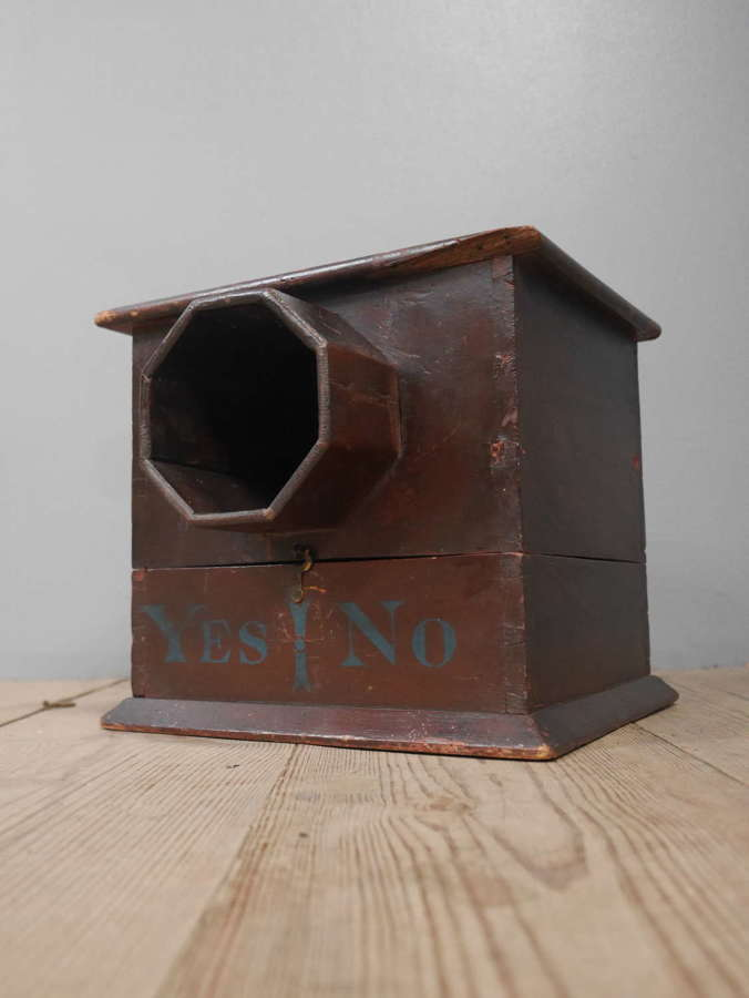 19th Century Ballot Box