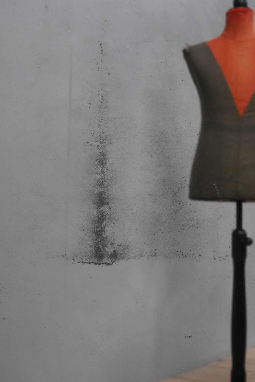 Ebonized Tailors Mirror ~ 7'0