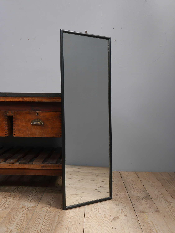 Ebonized Tailors Mirror ~ 4'