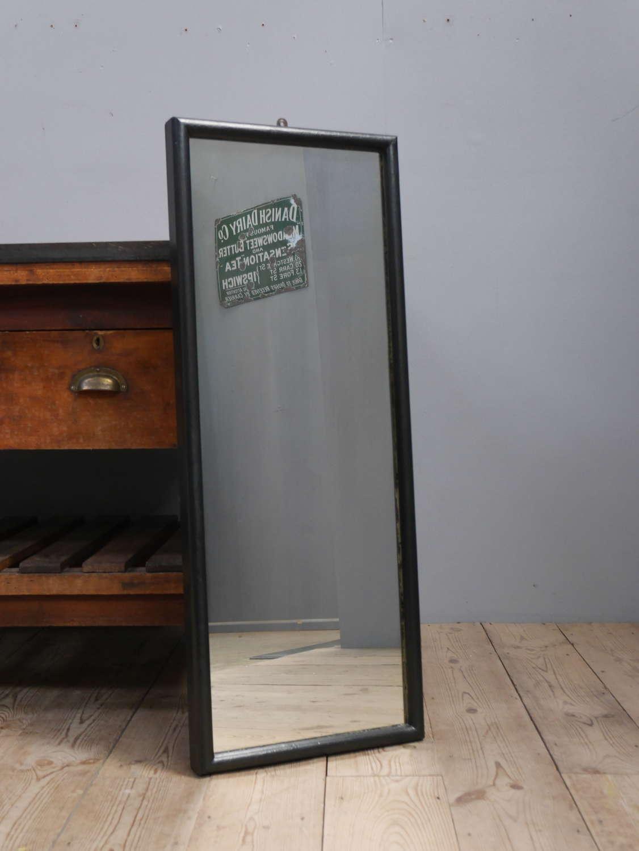 Ebonised Tailors Mirror ~ 3'2