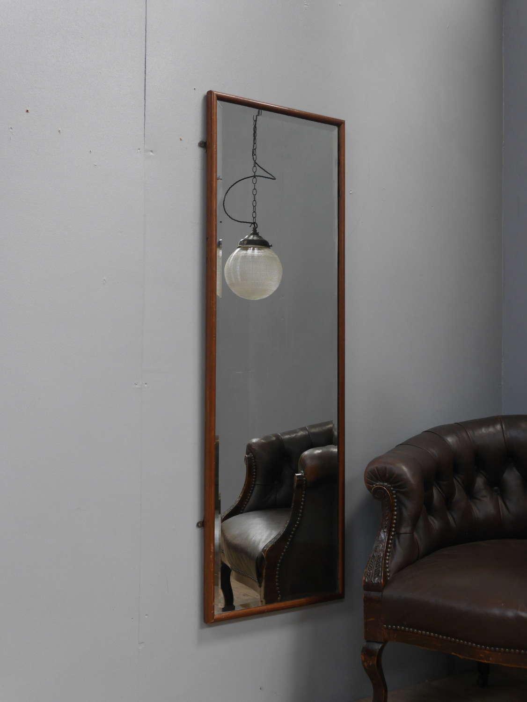 Mahogany Tailors Mirror ~ 4'
