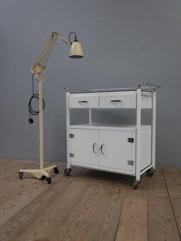 English Medical Trolley c1950
