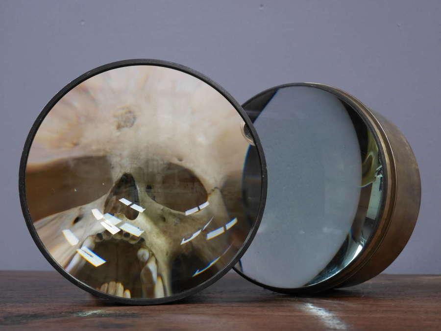 Large Glass Distortion Lenses