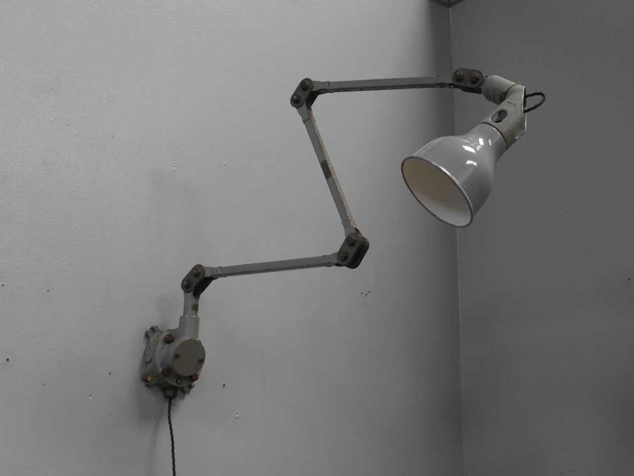 Grey Mek Elek Lamp