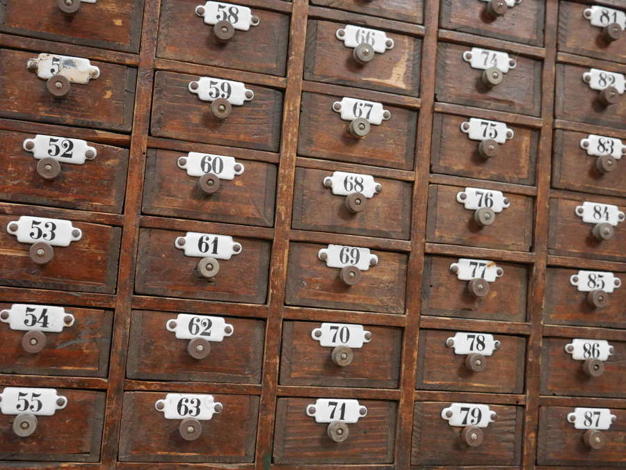 Bank Of Pine Drawers