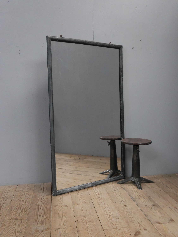 Large Ebonised Tailors Mirror