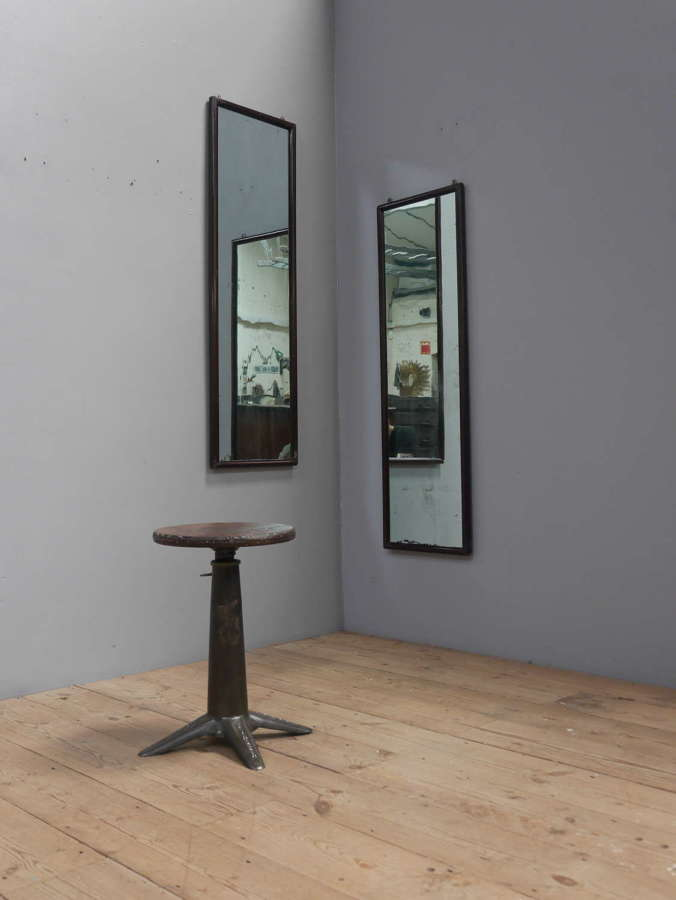 Pair of Blue Tailors Mirrors