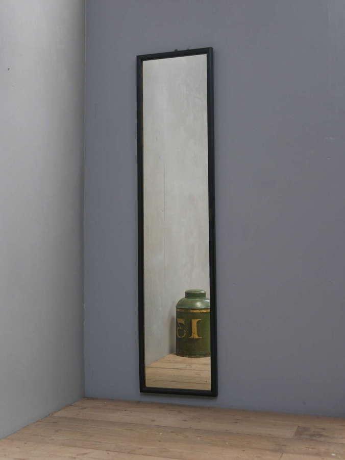 Ebonized Tailors Mirror 5'