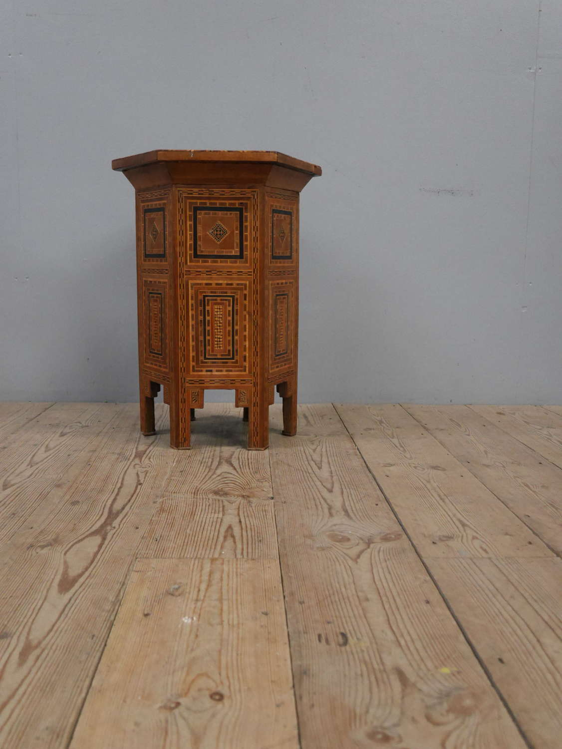 Inlaid Eastern End Table