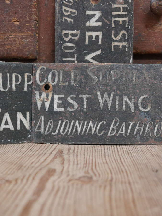 19th Century Manor House Signs