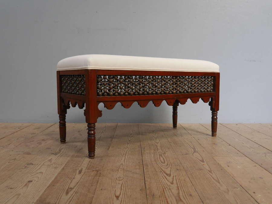 Moorish Window Seat c1900