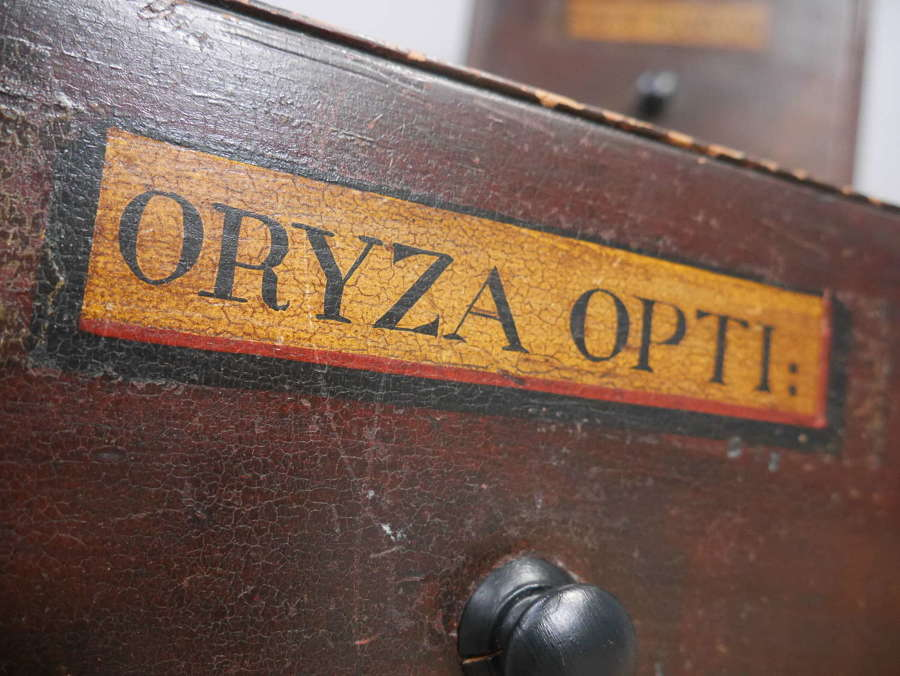 Chest Of Three Apothecary Drawers